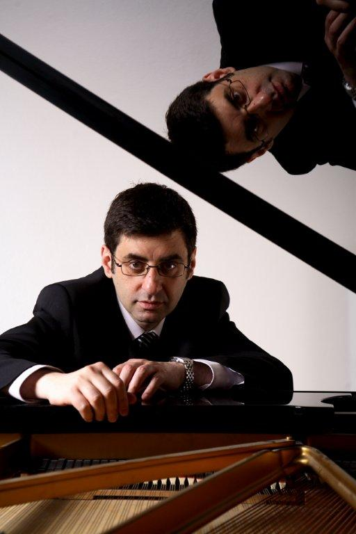 John Sarkissian at piano